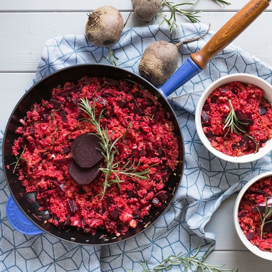 Rezeptbox Hirse-Risotto mit Roter Bete